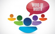 word of mouth team message illustration